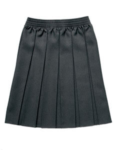 ZECO BOX PLEAT SKIRT