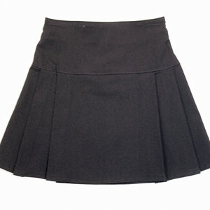 Pleated Bengaline Skirt by zeco