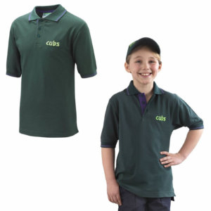 CUBS TIPPED POLO SHIRT